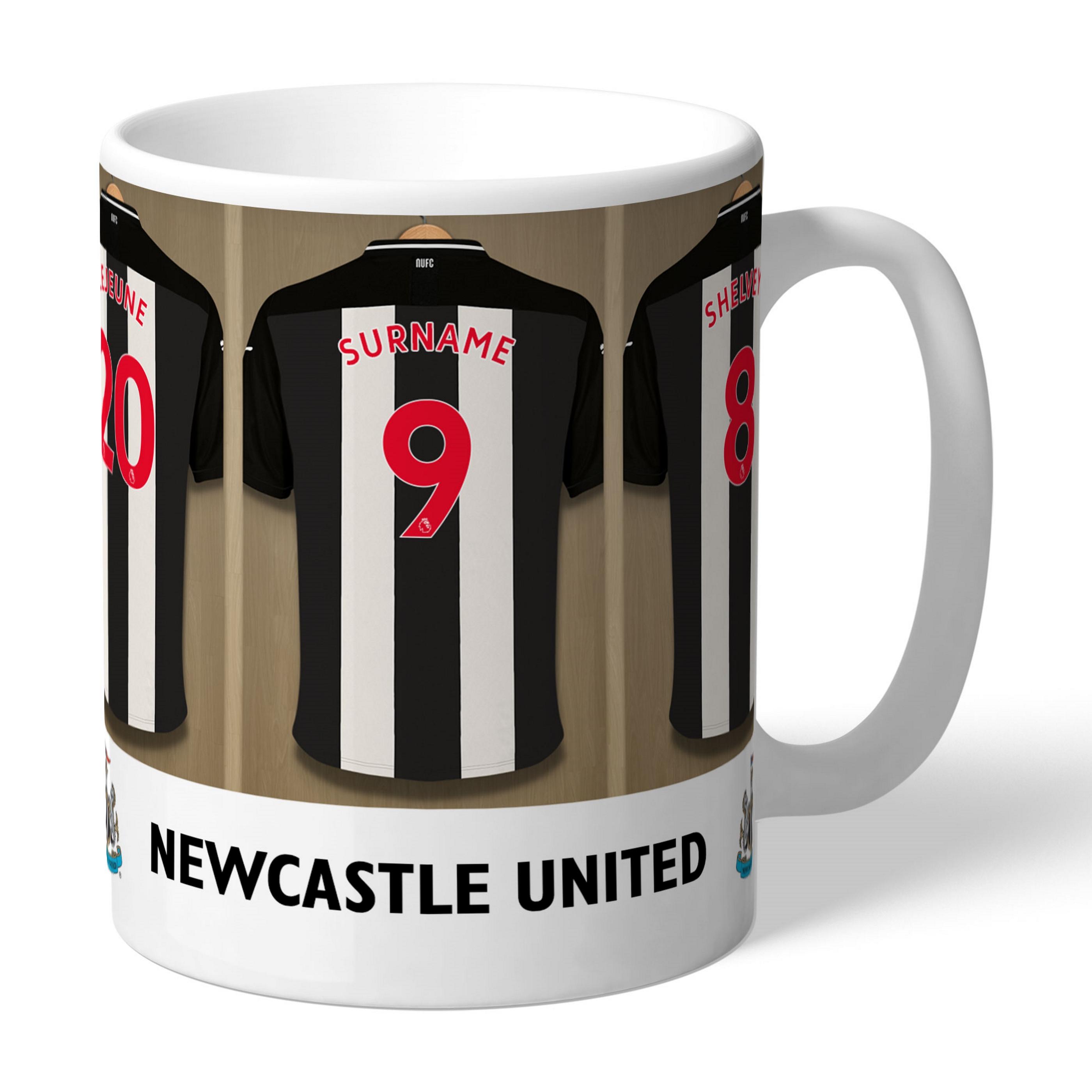 Newcastle United F.C Personalised Santa Sack BACK OF SHIRT